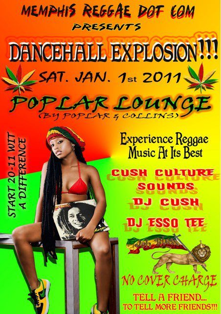 Dancehall Explosion - January 1st 2010