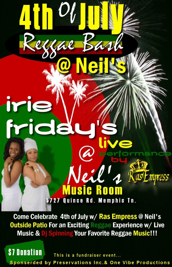 2nd Irie Fri. Neils4th